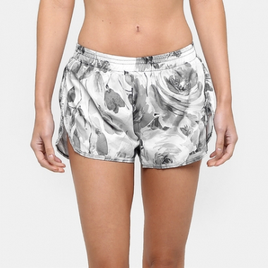 Short Memo Run Estampado-Feminino