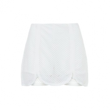 Short Saia Tela Teti Gio - Off White