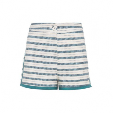 Short Tweed Le Lis Blanc - Off White