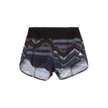 Shorts Basic Estampado Lauf - Preto