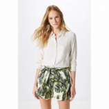 SHORTS ESTAMPA FOLHAGENS NATURAL LEAVES-EST. NATURAL LEAVES - PP