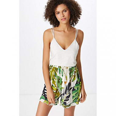 Shorts Estampa Green Leaves-Est. Green Leaves - M