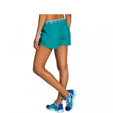 Shorts Fem Under Armour Play Up 1237189-400 G Verd