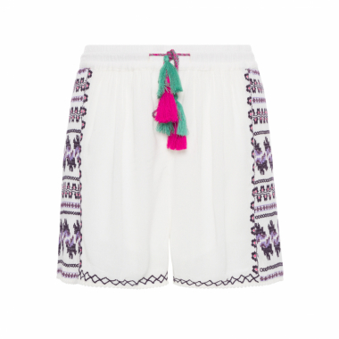 Shorts Feminino Bay - Off White