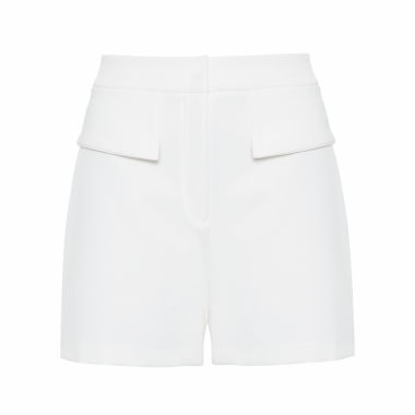 Shorts Feminino Pala - Off White
