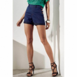 Shorts Jeans Na Base Pin Up Loose Dzarm