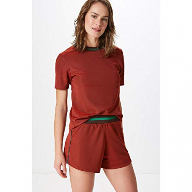 Shorts Sol-Mandarim Red - M