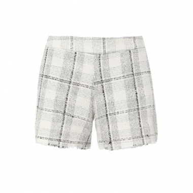 Shorts Tweed Vi And Co. - Off White
