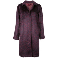 Sies Marjan Patterned Short Coat - Roxo