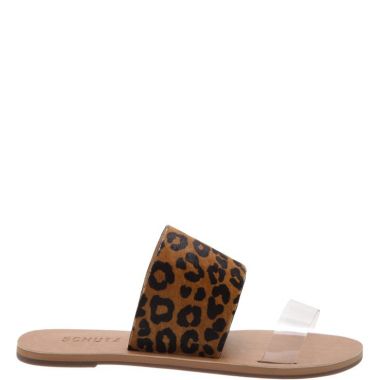 Slide Double Strap Animal Print | Schutz