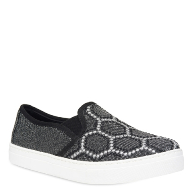 Slip-On Bordado Geometric