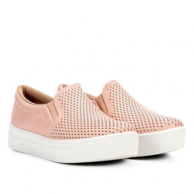 Slip On Dakota Laser Feminino-Feminino