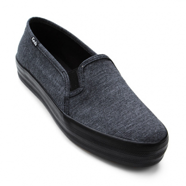 Slip On Keds Triple Decker Jersey Feminino-Feminino