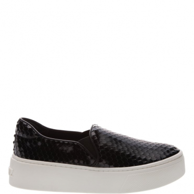 Slip On S-High Snake Black | Schutz