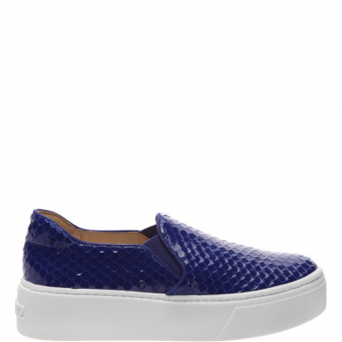 Slip On S-High Snake Blue | Schutz