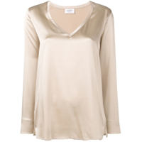 Snobby Sheep Blusa Decote V - Neutro