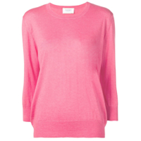 Snobby Sheep Cropped Sleeve Sweater - Rosa