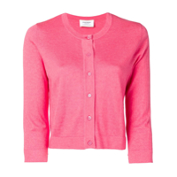 Snobby Sheep Round Neck Cardigan - Rosa