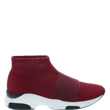 Sock Sneaker Stretch Red | Schutz