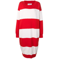 Sonia Rykiel Oversized Sweater Dress - Vermelho