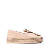 Sophia Webster Bibi Butterfly Espadrilles - Neutro
