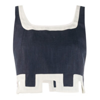 Staud Regata Cropped - Azul