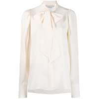 Stella Mccartney Blusa Com Laço - Neutro