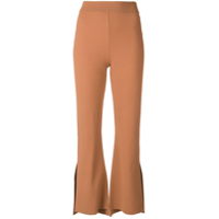 Stella Mccartney Calça Flare - Neutro