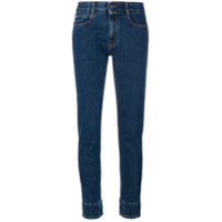 Stella Mccartney Calça Jeans Cropped - Azul