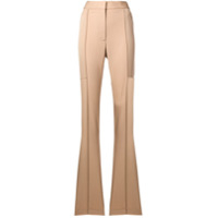 Stella Mccartney Calça Slim Flare - Neutro