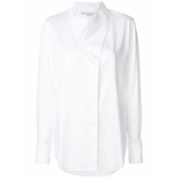 Stella Mccartney Camisa Assimétrica - Branco
