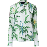 Stella Mccartney Camisa De Seda - Estampado
