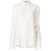 Stella Mccartney Camisa De Seda - Neutro