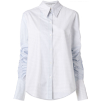 Stella Mccartney Camisa Xadrez 'thandie' - Branco