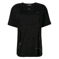Stella Mccartney Camiseta 'all Is Love' - Preto