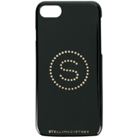Stella Mccartney Capa Para Iphone 7 Com Logo - Preto