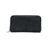 Stella Mccartney Carteira Continental 'fallabella' - Preto