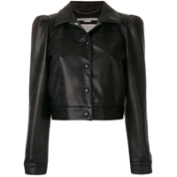 Stella Mccartney Jaqueta 'alter Nappa' - Preto