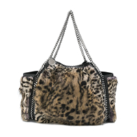 Stella Mccartney Mala Com Animal Print - Preto