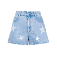 Stella Mccartney Short Jeans 'star' - Azul