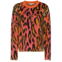 Stella Mccartney Suéter Animal Print - 8490 - Multicolours