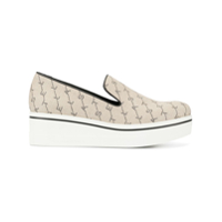 Stella Mccartney Tênis Monogramado Slip On - Neutro