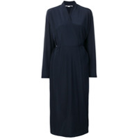 Stella Mccartney Vestido Envelope Midi - Azul