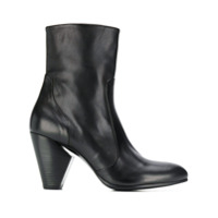 Strategia Ankle Boot Com Salto - Preto