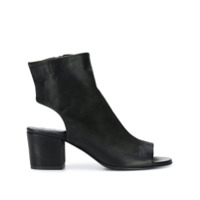 Strategia Cut-Out Ankle Boots - Preto