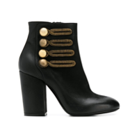 Strategia Military Ankle Boots - Preto
