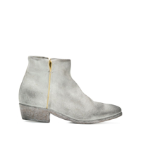 Strategia Ankle Boot Com Zíper Lateral - Cinza