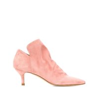 Strategia Ankle Boot Com Zíper Lateral - Rosa