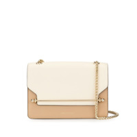 Strathberry Bolsa Tiracolo East/west Tricolor - Marrom