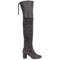 Stuart Weitzman Bota Over The Knee 'helena 75' - Cinza